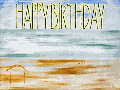 Happy Birthday 53 Print by Patrick J Murphy
