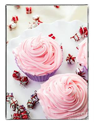 Happy Birthday Cupcakes Print by Edward Fielding