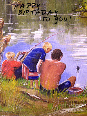 Happy Birthday To You Print by Bill Holkham