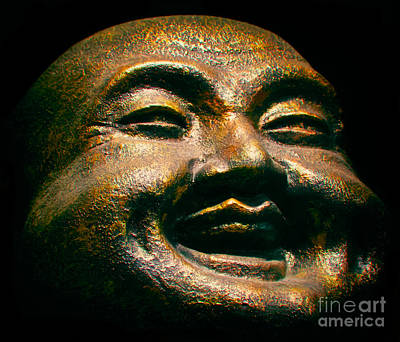 Happy Buddha Print by Mark Miller