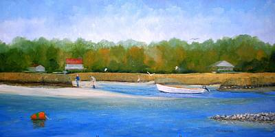 Painting - Happy Clamming by Keith Wilkie