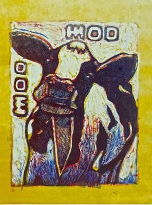 Happy Cow Original by Walt Maes