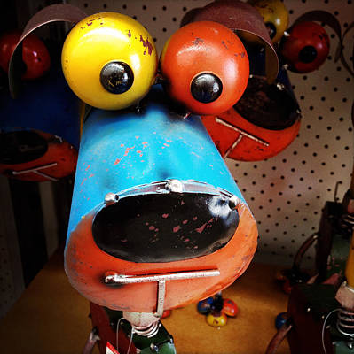 Scrap Photograph - Happy Dog by Les Cunliffe