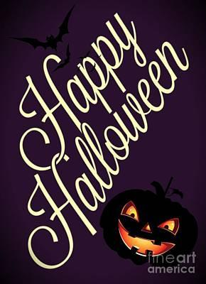 Halloween Photograph - Happy Halloween by Daryl Macintyre