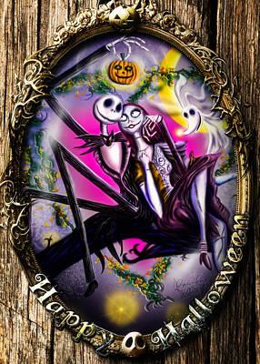 Happy Halloween IIi Print by Alessandro Della Pietra