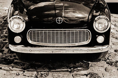 Happy Old Car Print by Arkady Kunysz