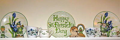 Happy St Patrick's Day  Print by Nancy Patterson