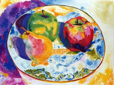 Happy Trio In Chinese Bowl Print by Lisa Boyd