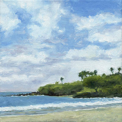 Hapuna Beach Print by Stacy Vosberg