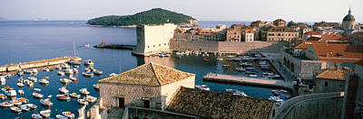 Dubrovnik Photograph - Harbor Of Dubrovnik, Croatia by Panoramic Images