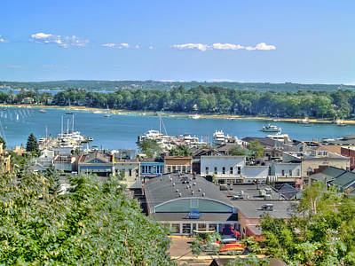 Harbor Springs Michigan Print by Bill Gallagher