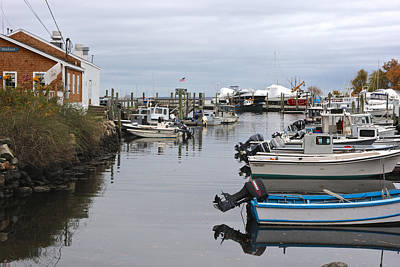 Photograph - Harbor Wickford Ri by Gail Maloney