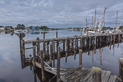 Boat Photograph - Harbor Work by Jon Glaser