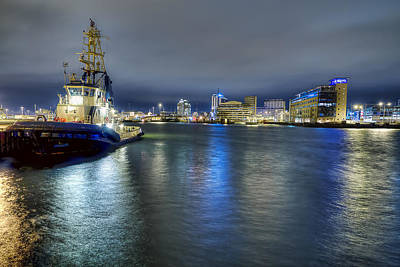 Malmo Photograph - Harbour Downtime by EXparte SE