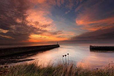 Izzy Photograph - Harbour Sunset by Izzy Standbridge