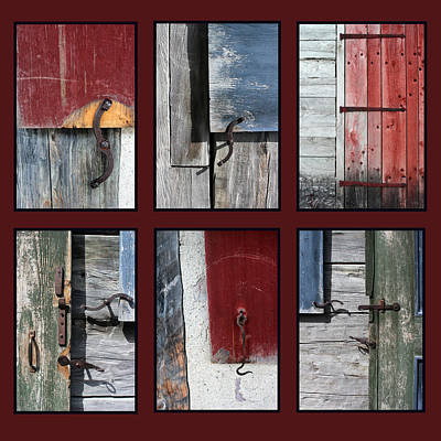 Latch Hook Photograph - Hardware 4 by Mary Bedy