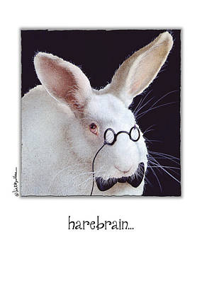 Harebrain... Print by Will Bullas