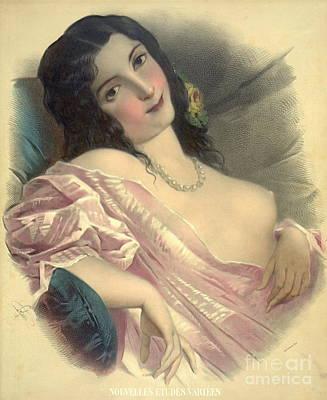 Harem Girl 1850 Print by Padre Art