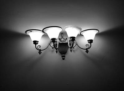Harlem Photograph - Harlem Sconce by H James Hoff