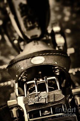Harley Belt And Buckle Original by Tim Gainey