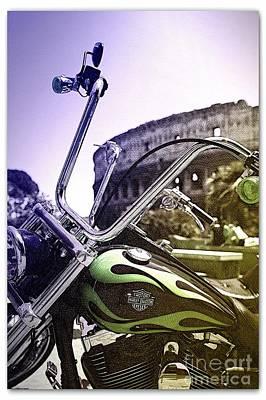 Harley Davidson Event Original by Stefano Senise