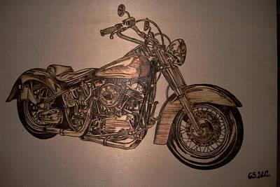 Harley Davidson Print by G S