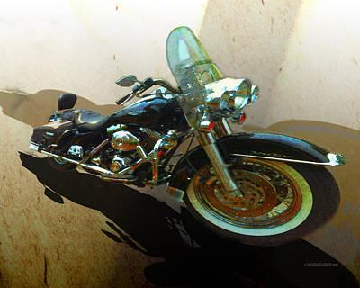 Harley Davidson Mixed Media - Harley Davidson by Maria Eames
