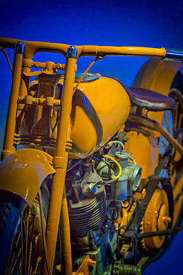 Power Photograph - Harley Nostalgia by Erik Brede
