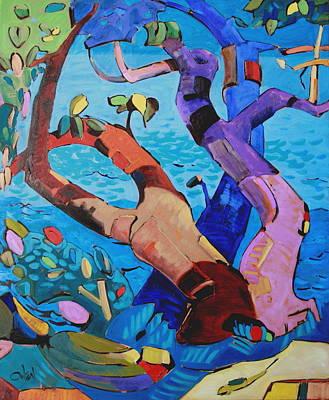 An Island Painting - Harmony 1 Nfs by Rob Owen
