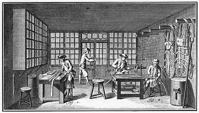Harness-maker, 18th Century Print by Granger