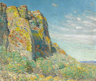 Childe Hassam Painting - Harney Desert by Childe Hassam