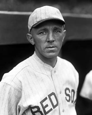Red Sox Photograph - Harold J. Hal Wiltse by Retro Images Archive