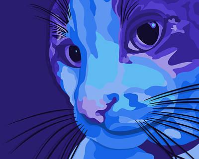 Pet Portraits Digital Art - Harold by John Berndt