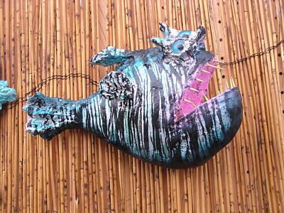 Palmfish Sculpture - Harold The Hatchet Fish by Dan Townsend