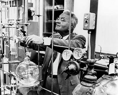 Clayton Photograph - Harold Urey by Us Department Of Energy
