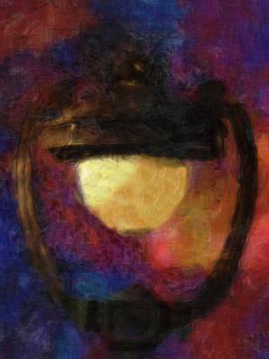 Harp Lamp Print by Jack Zulli