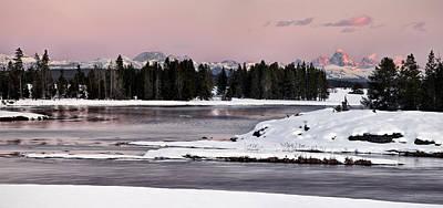 Idaho Photograph - Harriman Winter Light by Leland D Howard
