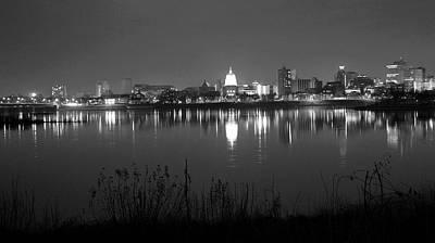 Harrisburg Skyline Print by Rob Luzier