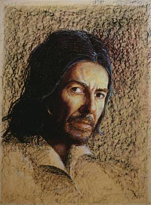 Harrison 1943-2002 Oil Pastel On Board Print by Trevor Neal