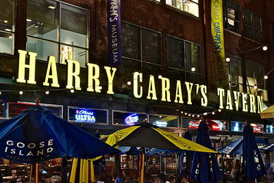 Harry Caray Tavern Print by Frozen in Time Fine Art Photography