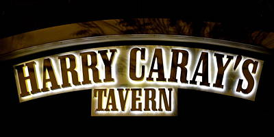 Harry Caray's Tavern Print by Frozen in Time Fine Art Photography