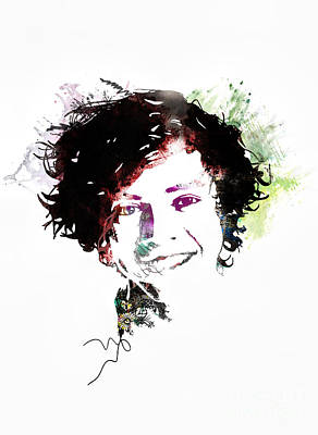 Gillian Digital Art - Harry Styles by Gillian Singleton