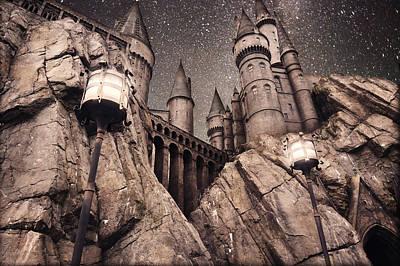 Manipulation Photograph - Hogwarts Castle Harry Potter by Robert Jones