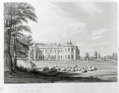 Hartwell Photograph - Hartwell House by British Library