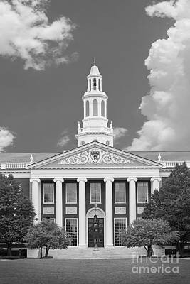 Harvard Photograph - Baker Bloomberg At Harvard University by University Icons