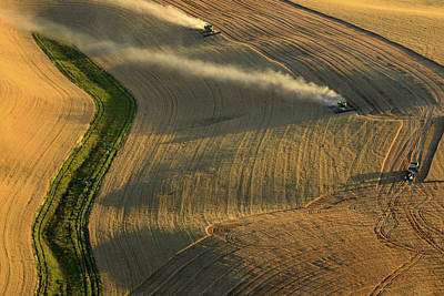 Harvest Time Print by Latah Trail Foundation