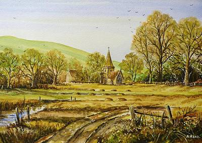 Harvesting Fields Original by Andrew Read