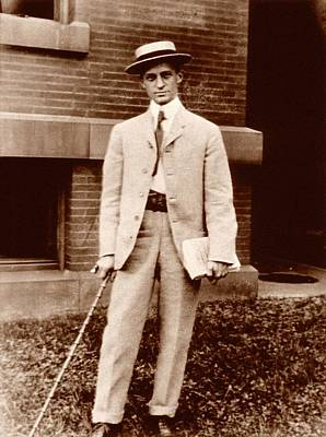 Harvey Cushing Print by National Library Of Medicine