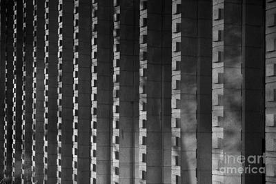 Liberal Photograph - Harvey Mudd College Columns by University Icons