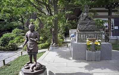 Hasedera Temple - Japan Print by Daniel Hagerman